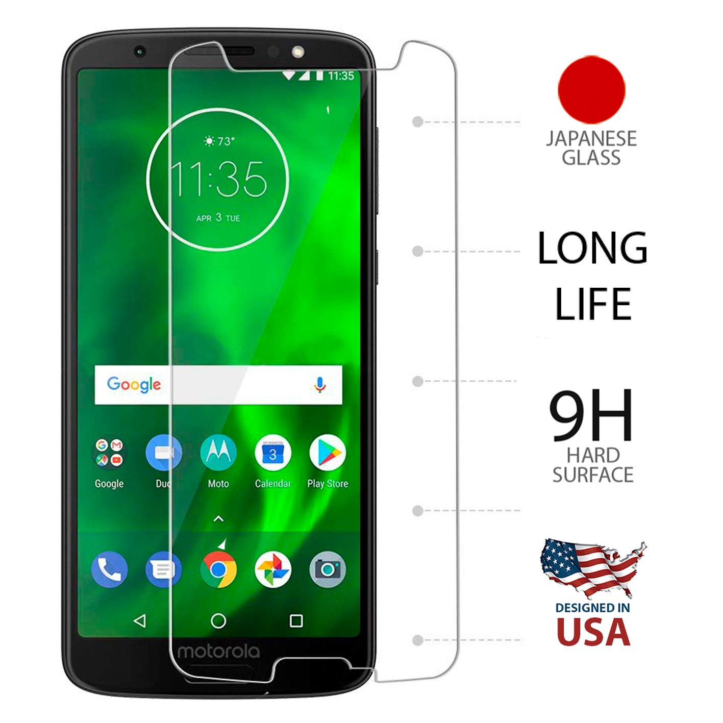 front screen protector g6