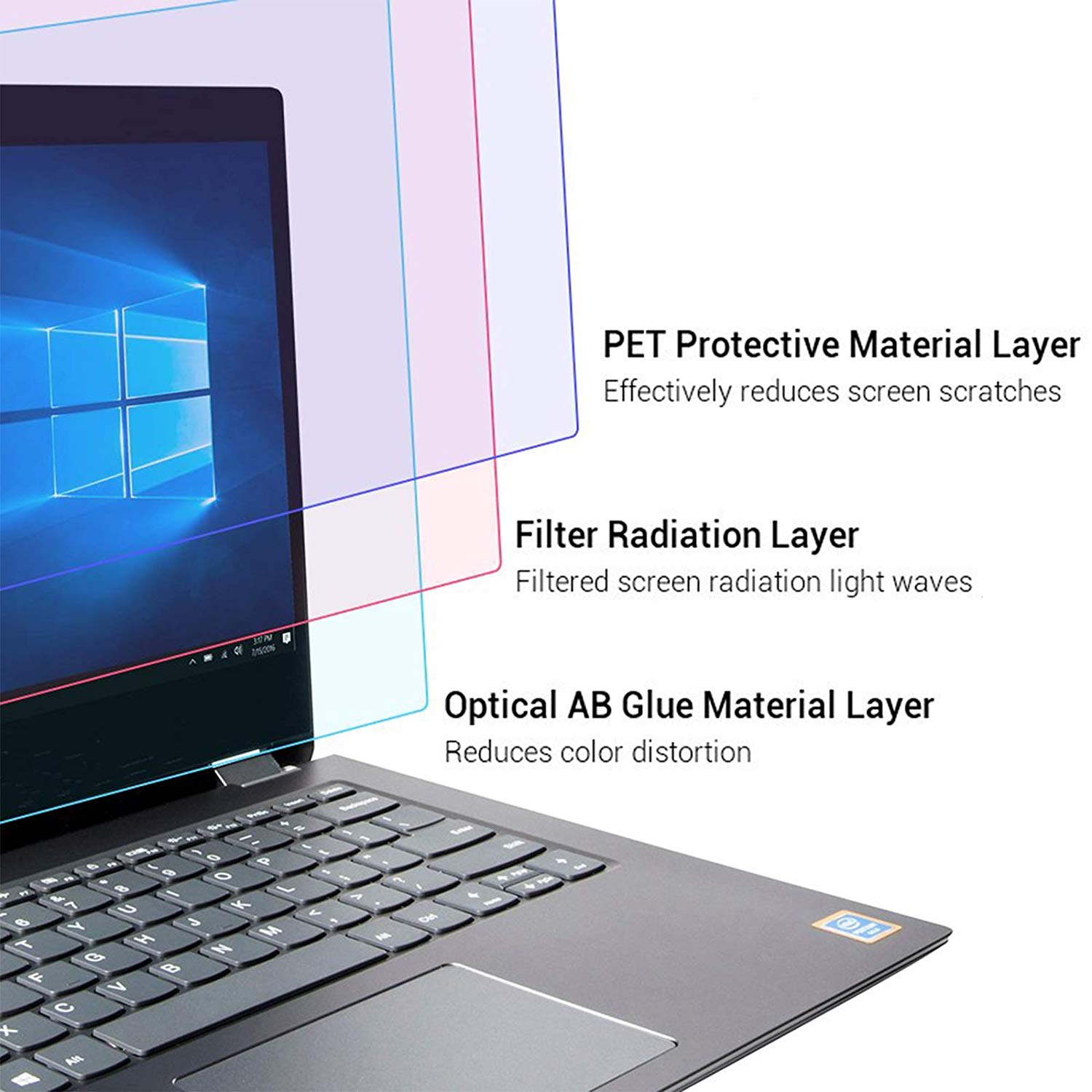 clear filter laptop 15.6 inch