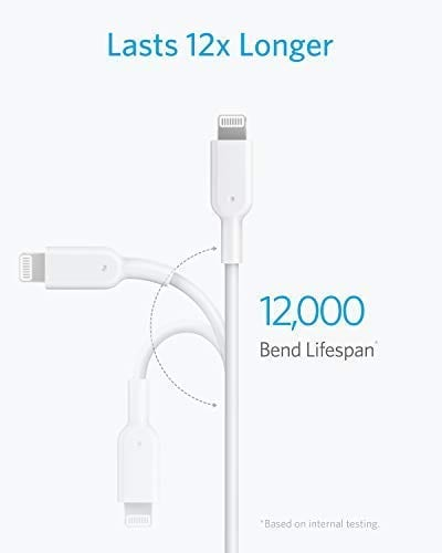 iphone to usb type c white cable