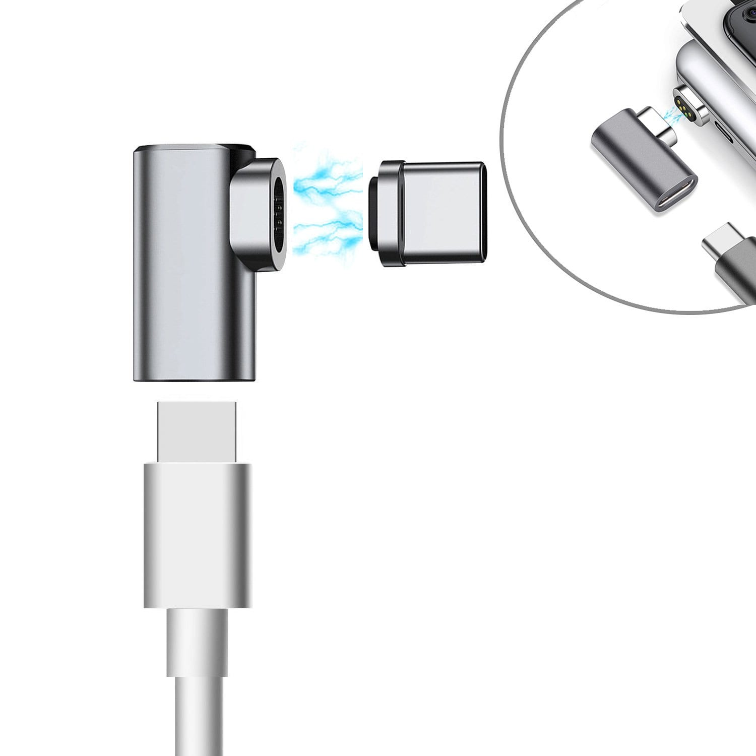 usb type c connector magnetic