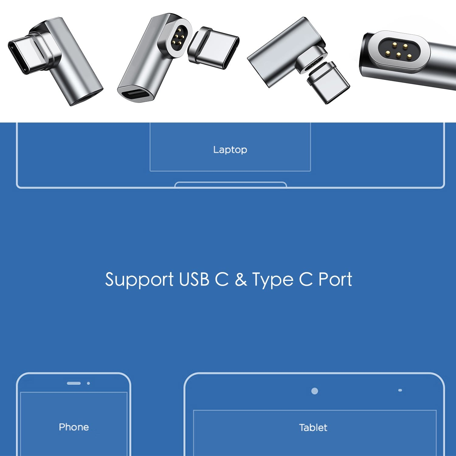 usb type c magnetic connector