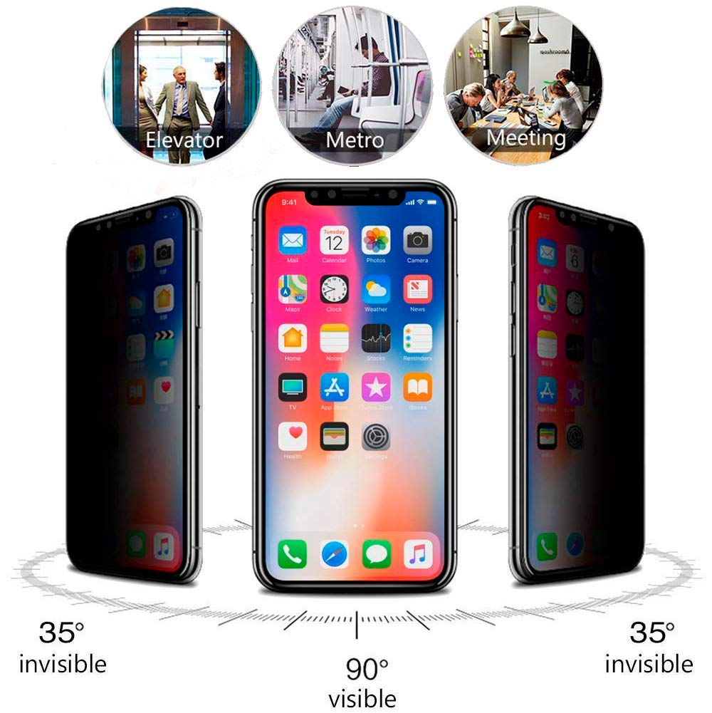 privacy screen protector iphone xs