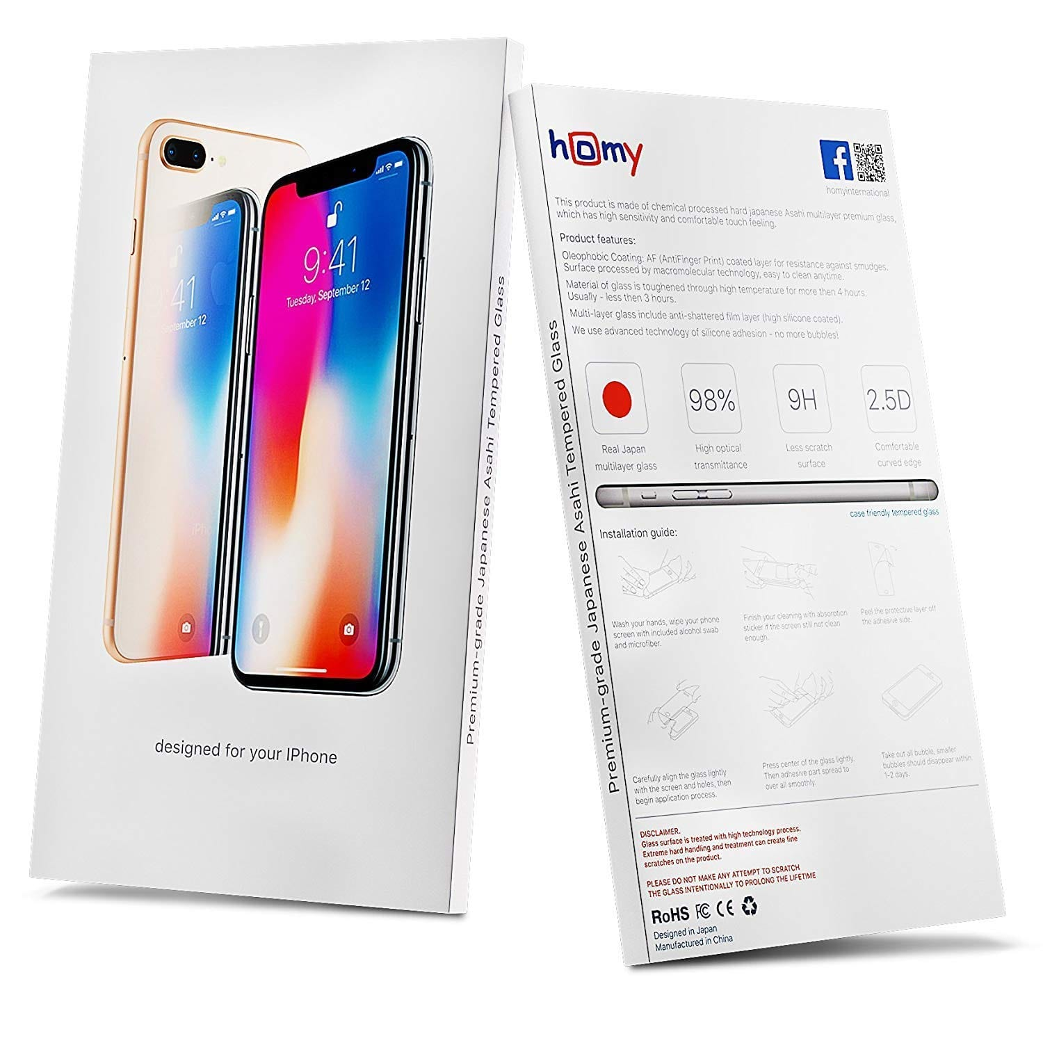 iphone x privacy cover