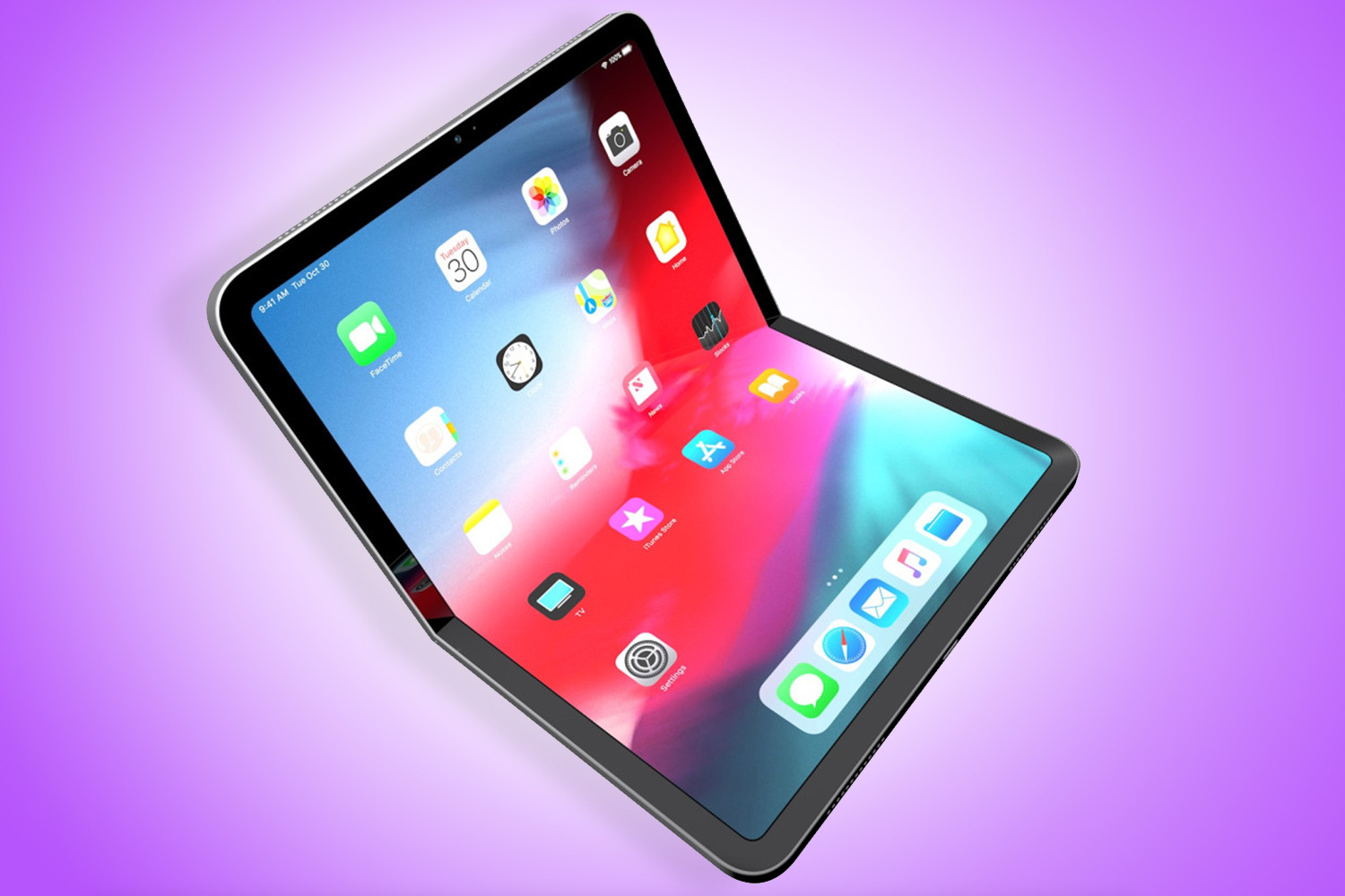 The foldable iPhone